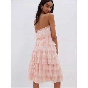 Eva Franco tiered tulle mini dress